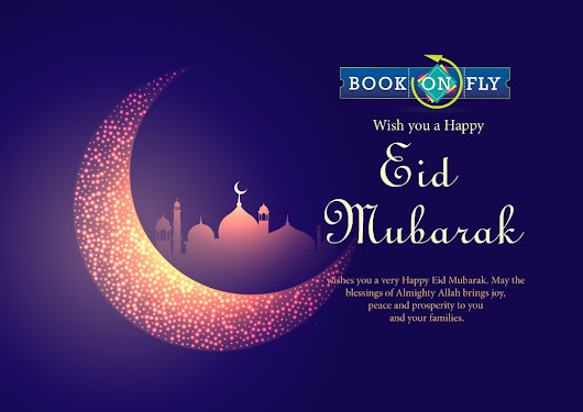 "Book On Fly on Twitter: ""#EidMubarak to all from Book On Fly """