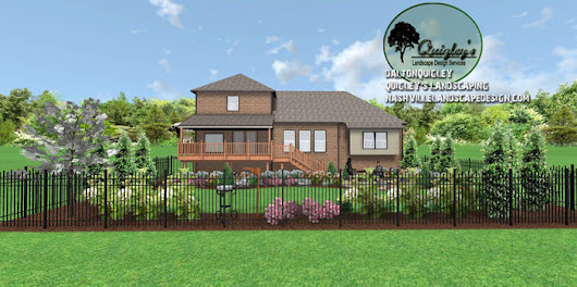 Spring Hill bird lovers backyard - Nashville Landscape Design Services Quigley's Landscape Design