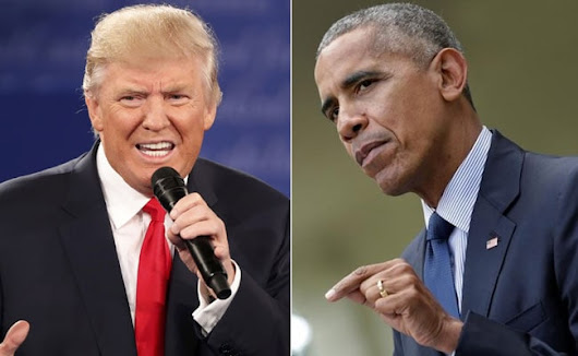 Donald Trump's 'Unprecedented' Flattery Of Vladimir Putin 'Out-Of-Step': Barack Obama