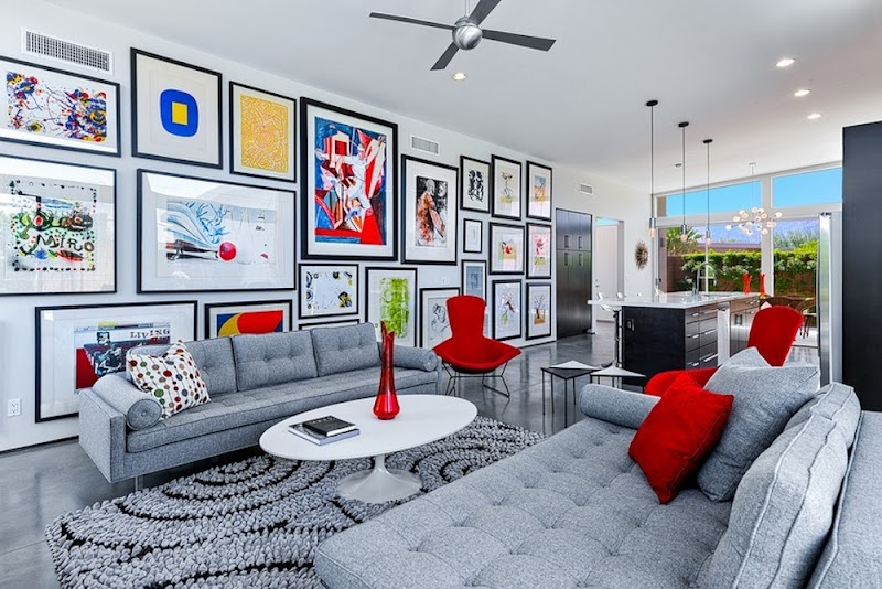 Cool Living Room Interior Design Wall Art images