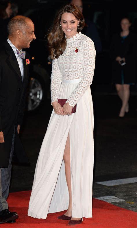 princess catherine  white   london screening