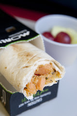 Thai Style Vegetable Hot, Posh Wraps, Airline Meal, Delta Airline