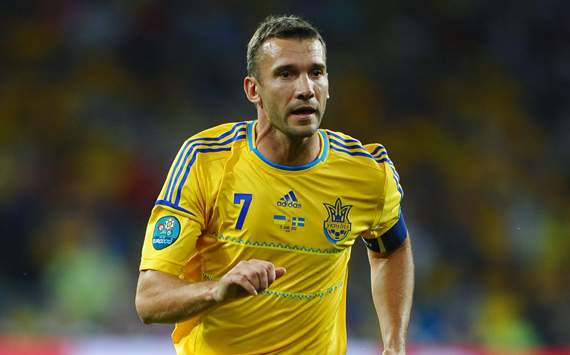 UEFA EURO - Ukraine v Sweden, Andriy Shevchenko