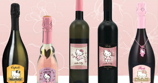 Say hello to Hello Kitty wine