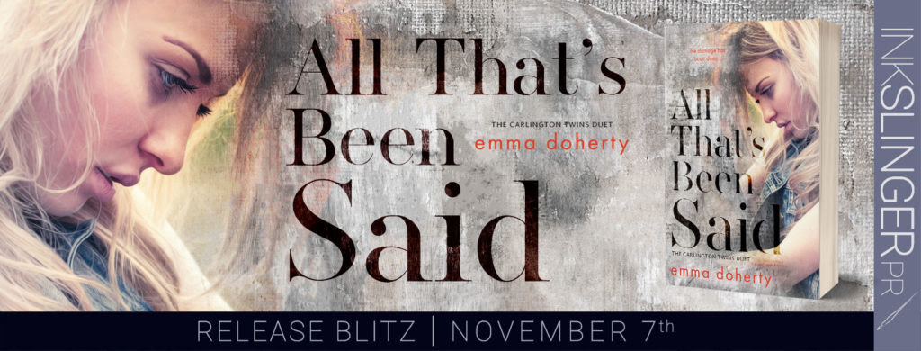 All That's Been Said Release Blitz