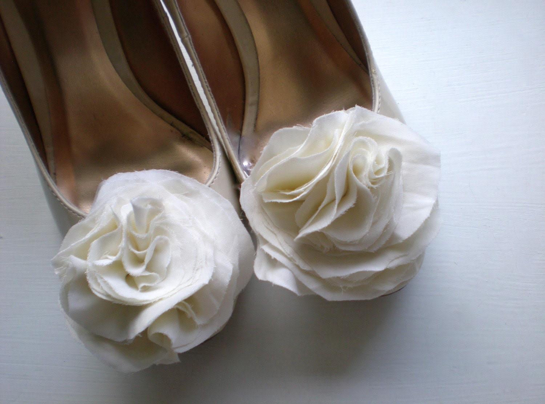 B. Poetic Silk Shoe Clips