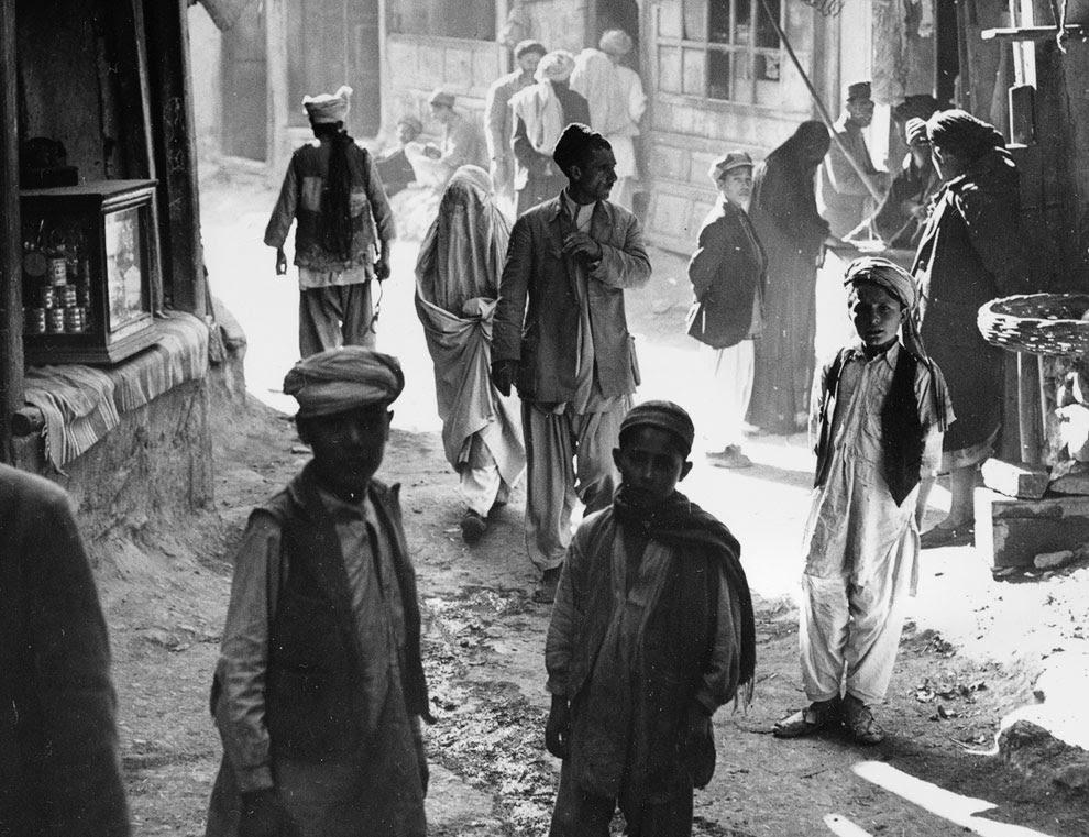 Улицы Кабула, Афганистан