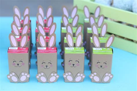 Easter: Bunny Juice Boxes DIY   Evite