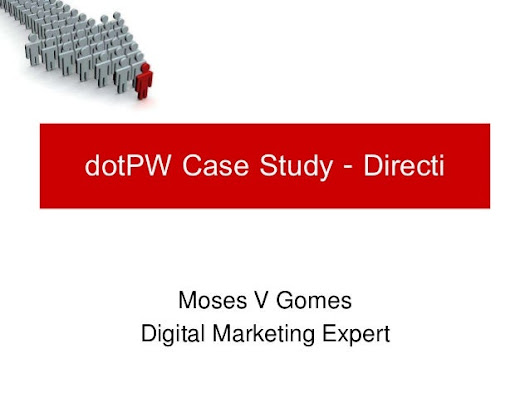 Case study for dotPW Directi - Free email solutions