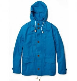 Ps By Paul Smith Hooded Cotton-canvas Parka Jacket