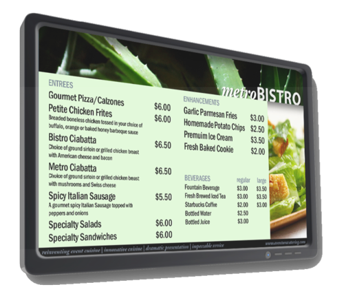 Cuisine Diva: Digital Restaurant Menu Board Pros and Cons