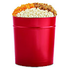 The Popcorn Factory 3.5G Red Tin - 3 Flavors by 1-800-Baskets - Gift Basket Delivery