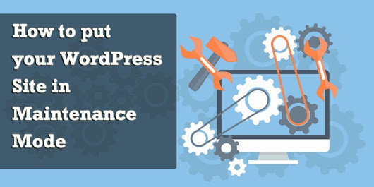 How to put your WordPress Site in Maintenance mode - WPOven Blog