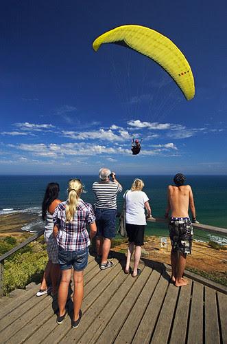 Paragliding at Torquay, Victoria, Australia IMG_5616_Torquay