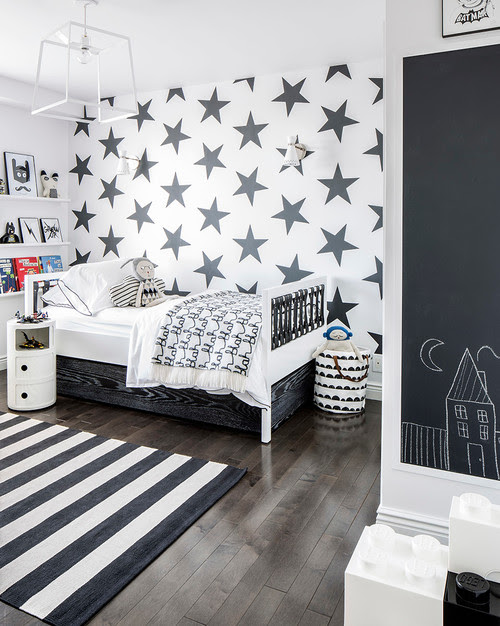 Interior home decorating with stars - living room, kitchen, bedroom, entry way, garden, bathroom, stairs, nursery