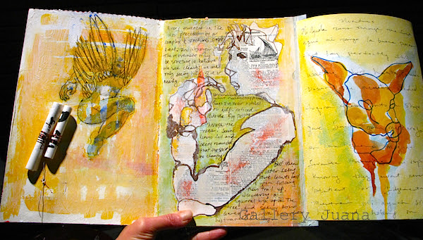 december journal page one, two and three