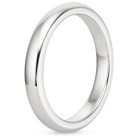 Petite Comfort Fit Wedding Ring   Brilliant Earth