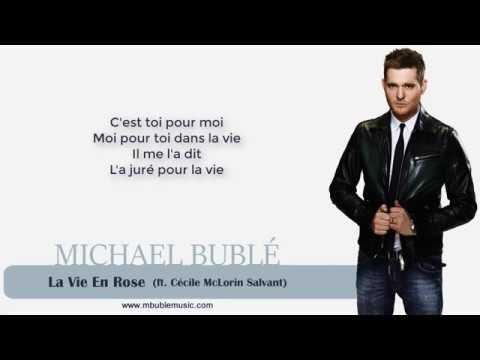 Lyrics La Vie En Rose Michael Buble