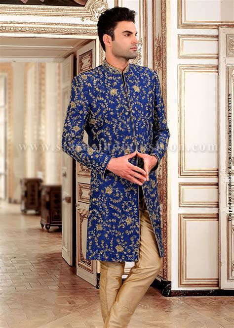 In232   Men Fashion   Sherwani, Wedding sherwani, Indian