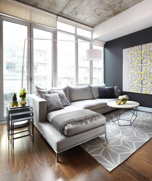 25 Stunning Modern Living Room Design Ideas