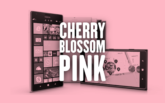 Nokia Blue? Next Nokia update could be called 'Lumia Cherry Blossom Pink' instead