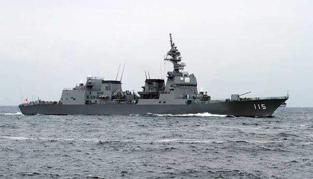 Inilah 6 Kapal Perang Penjaga Kedaulatan Laut Jepang