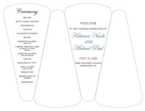 dyi template  program fans  template weddingbee