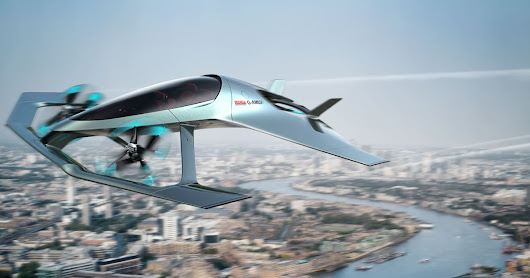 Aston Martin's Volante Vision is a luxurious flying taxi