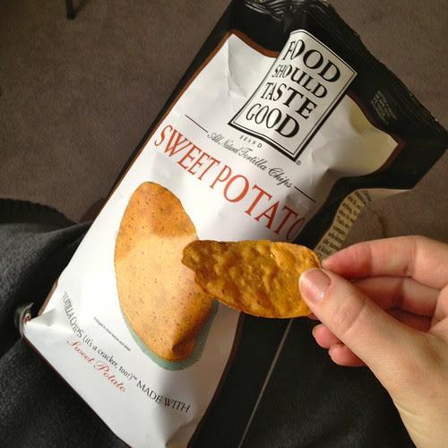 Food Should Taste Good Sweet Potato chips