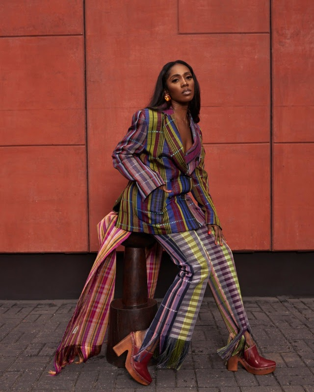Tiwa Savage Gets Dragged For 'Stealing' Wizkid's Anoti Dance For Somebody's Son Challenge #Arewapublisize
