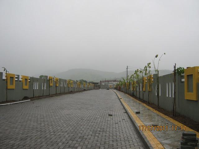 Driveway at Mont Vert Vesta Urawade Pirangut Pune 412 108