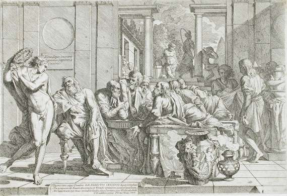 Pietro Testa - The Symposium of Plato (1648)