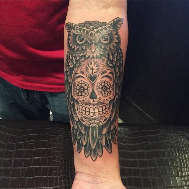 125 Best Sugar Skull Tattoo Designs Meaning 2018