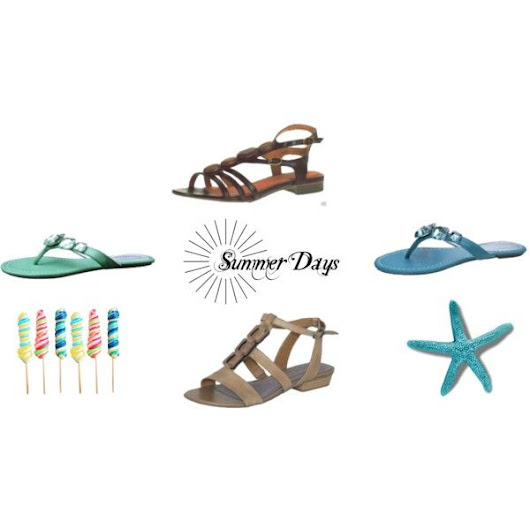 Ladies Summer Sandals To Wear On The Beach