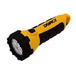 Dorcy 41-2510 Incredible Floating Flashlight - LED - AA - Plastic, Rubber - Yellow, Black (412510)
