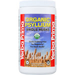 Yerba Prima Organic Psyllium - Whole Husks Supplement - 12 oz.