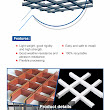 2017 Fashionable 3D decorative Aluminium Grille Office Ceiling, View Aluminium Grille Office Ceiling, Aix Product Details from Zhengzhou Joda Technology Co., Ltd. on Alibaba.com