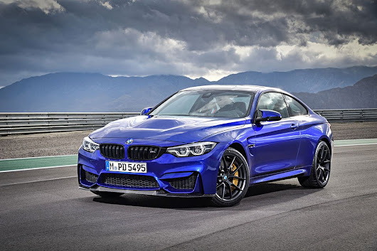 The BMW M4 CS Looks Ready to Rumble - 95 Octane