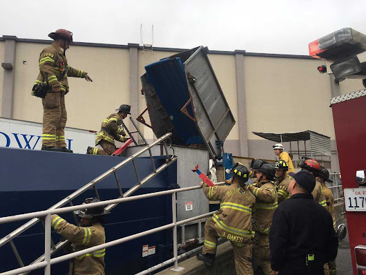 Screaming man rescued from trash compactor in Sacramento