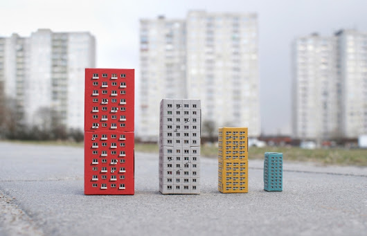 Blokoshka: Build your own playful Eastern Bloc modernist architecture