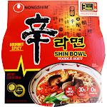Nongshim Shin Noodle Soup Bowl, 3.03 Ounces
