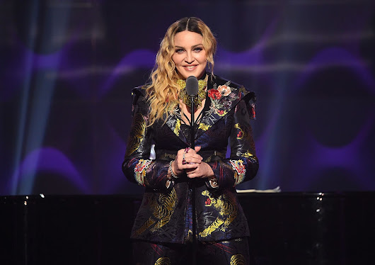 Madonna Made Two Powerful Statements at the Billboard Women in Music Awards