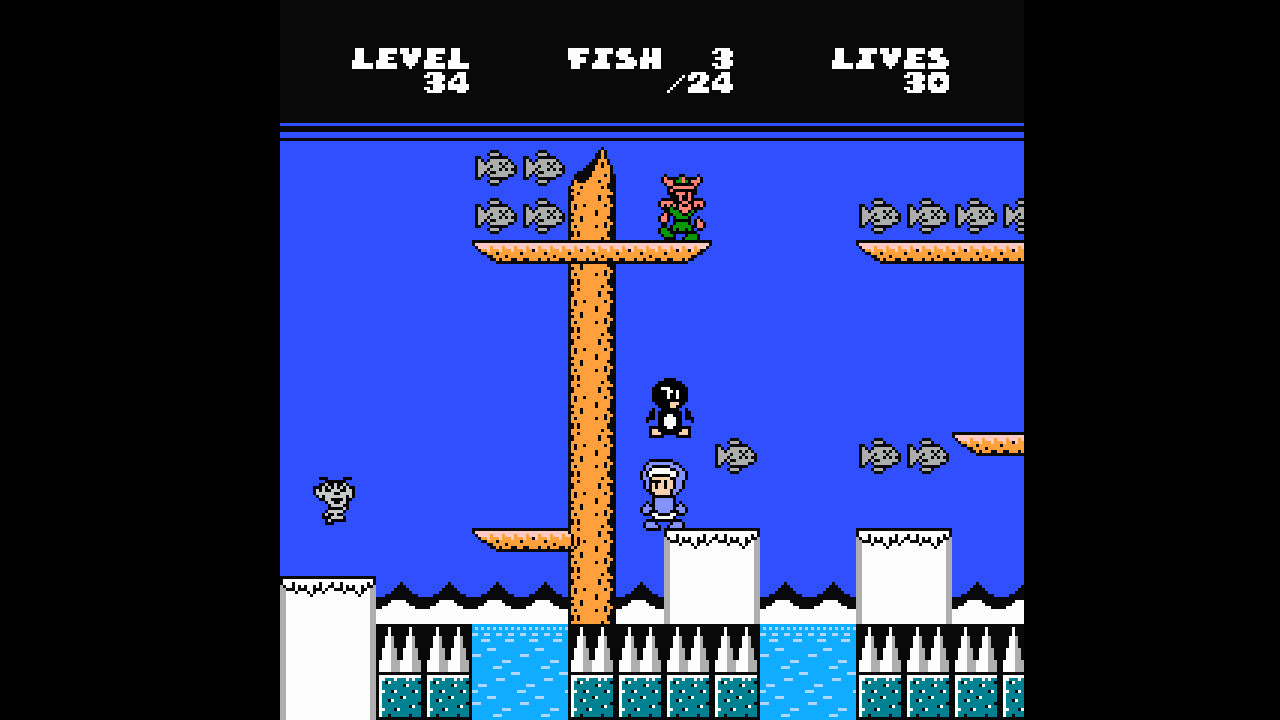 Eskimo Bob is a new NES game out on Steam screenshot
