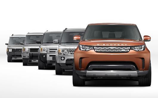 2017 Land Rover Discovery first look
