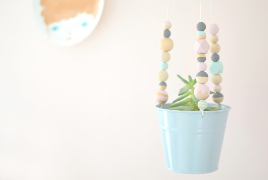 DIY : Une suspension style scandinave - La vie en plus joli