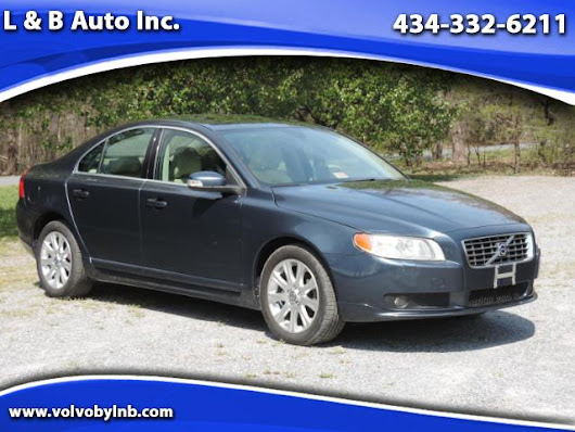 Used 2007 Volvo S80 3.2 FWD for Sale in Rustburg VA 24588 L & B Auto Inc.