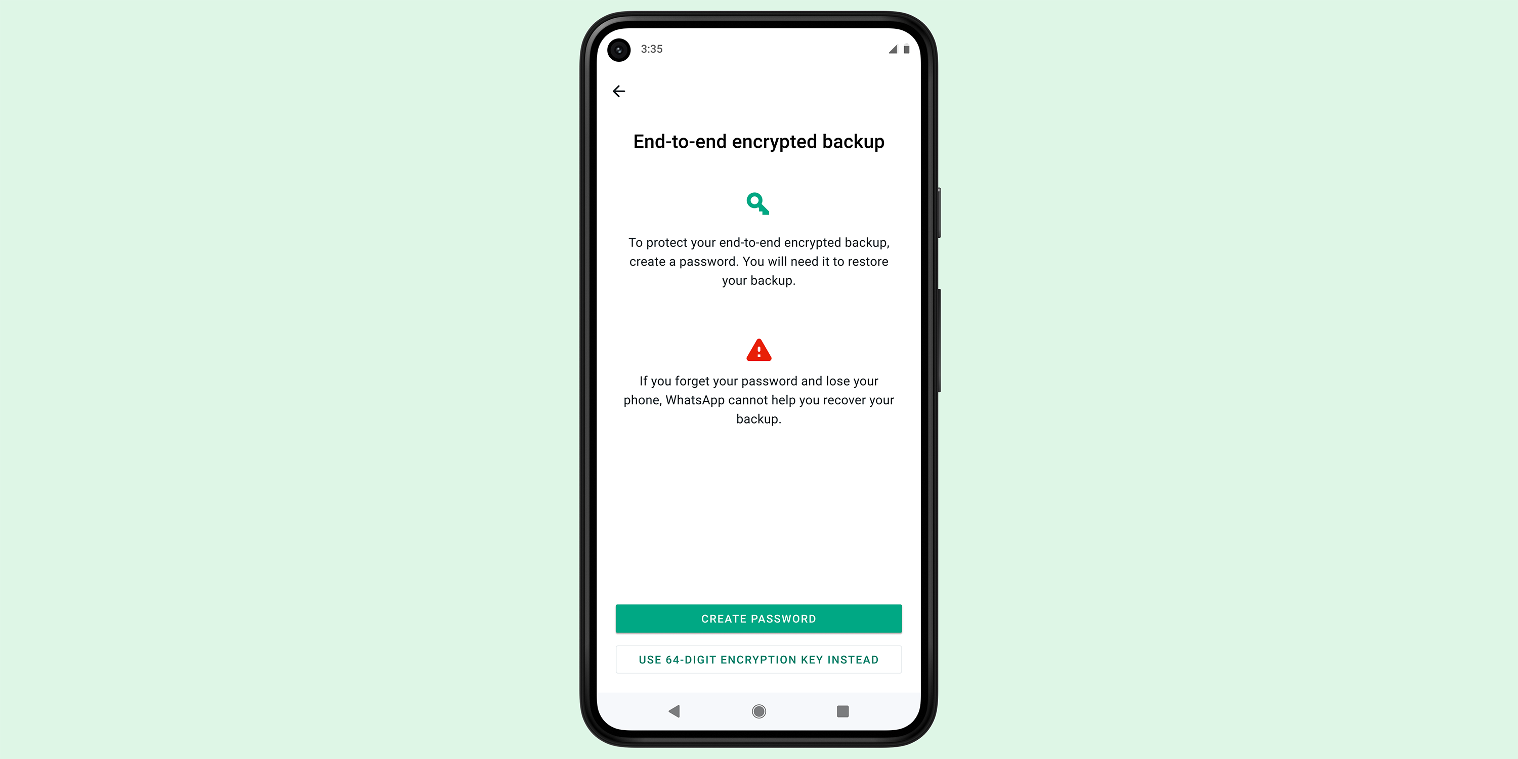 WhatsApp end-to-end encrypted backups rolling out; may put pressure on Apple