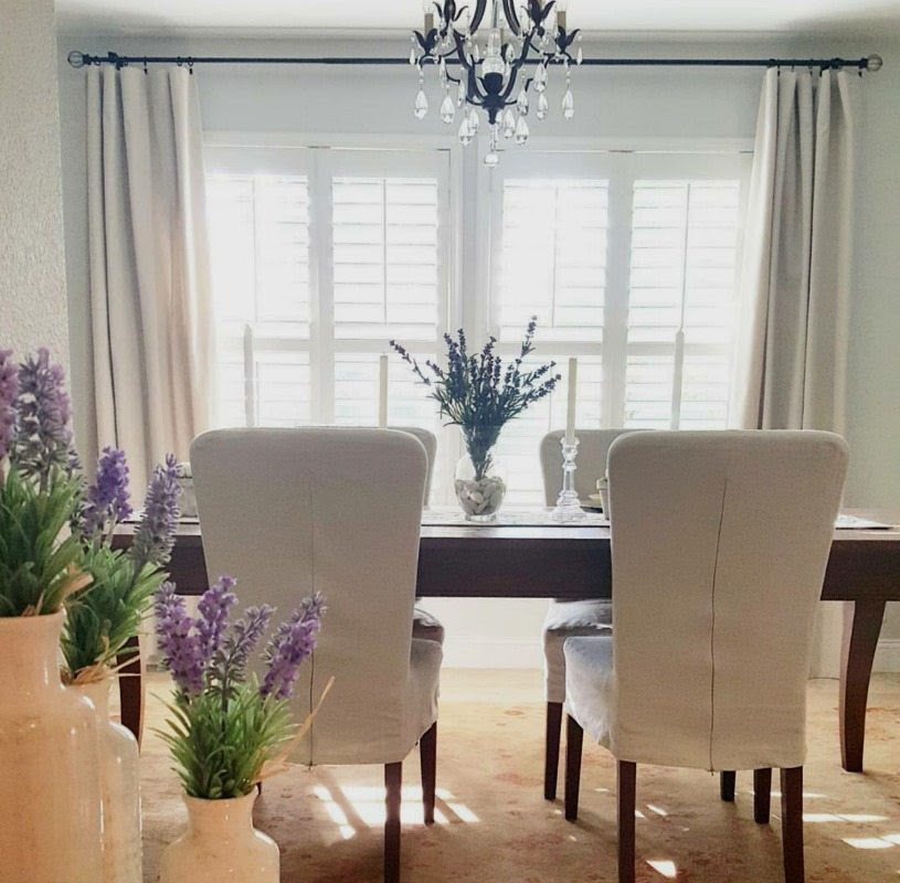 How to Make No-Sew Drop Cloth Curtains - The Design Twins ...