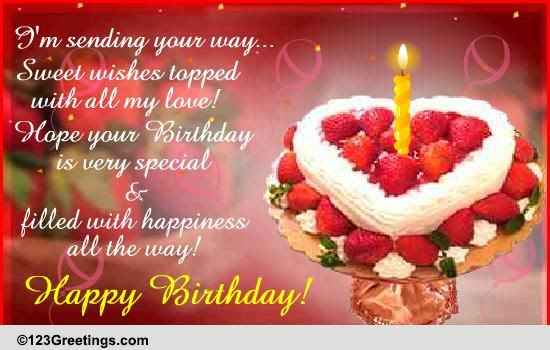 Quotes Happy Birthday Cake Love Images With