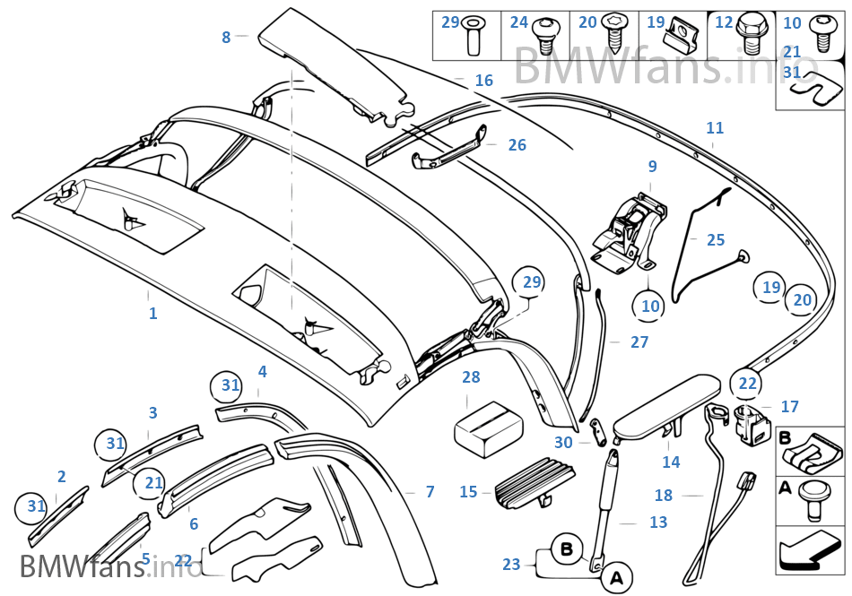 34 Bmw Z4 Parts Diagram